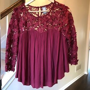 Anthropologie Guest Editor Top Sz Small